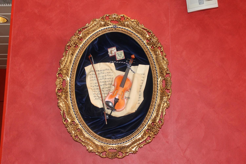 Modomio Dekoration Violine